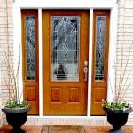 Spring Porch Arrangements