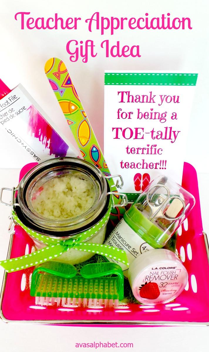 TOEtally Terrific Teacher Gifts