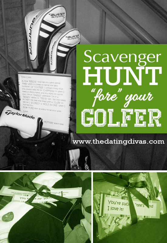 "Scavenger Hunt ""Fore"" Your Golfer"