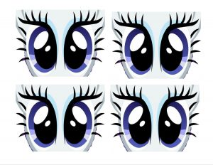 Pony Eyes Printable