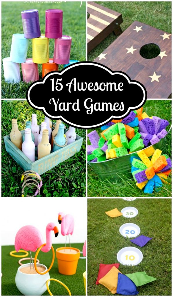 15 Awesome Yard Games