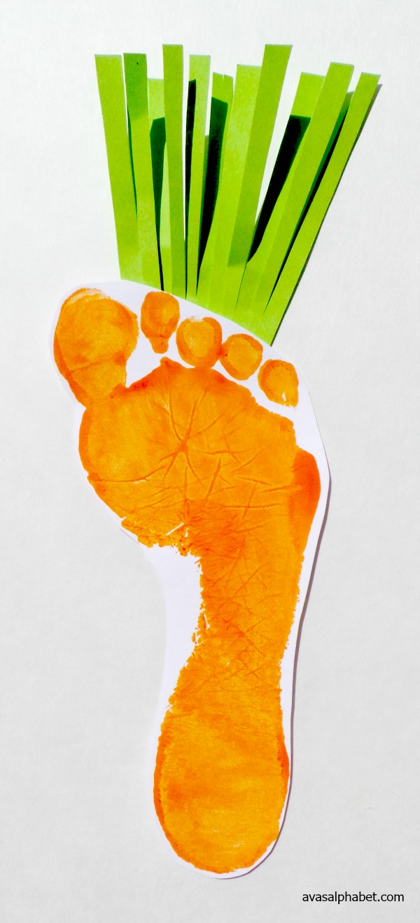 Vegetable Prints - Carrot