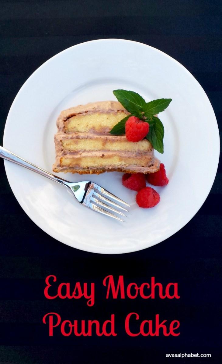 Easy Mocha Pound Cake