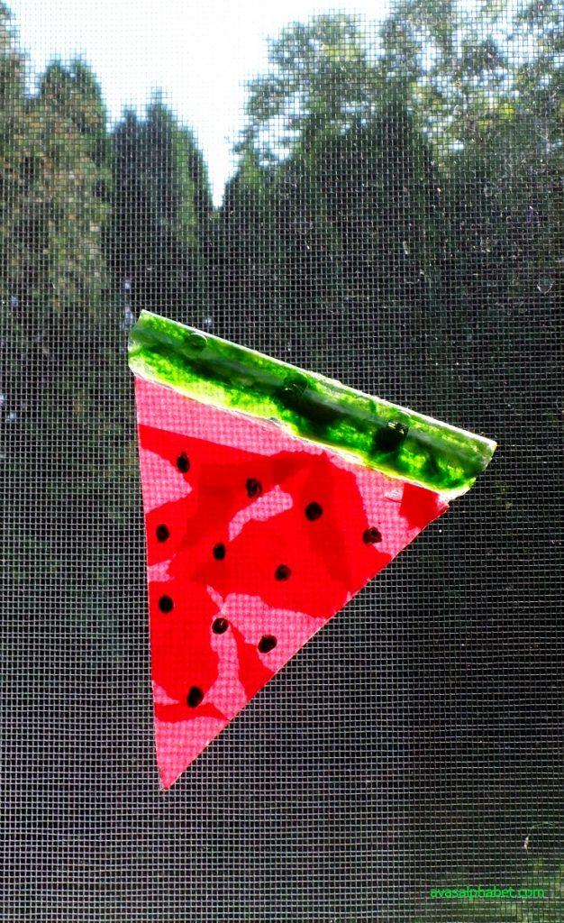 Watermelon Suncatchers