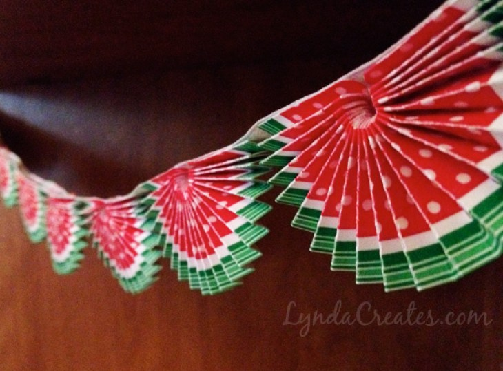 Happy Summer Watermelon Bunting Banner