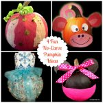 Four Fun No-Carve Pumpkin Ideas