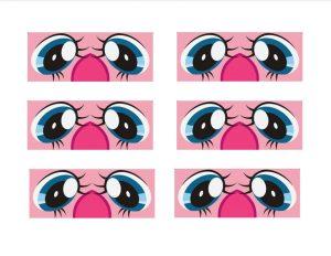 My Little Pony eyes