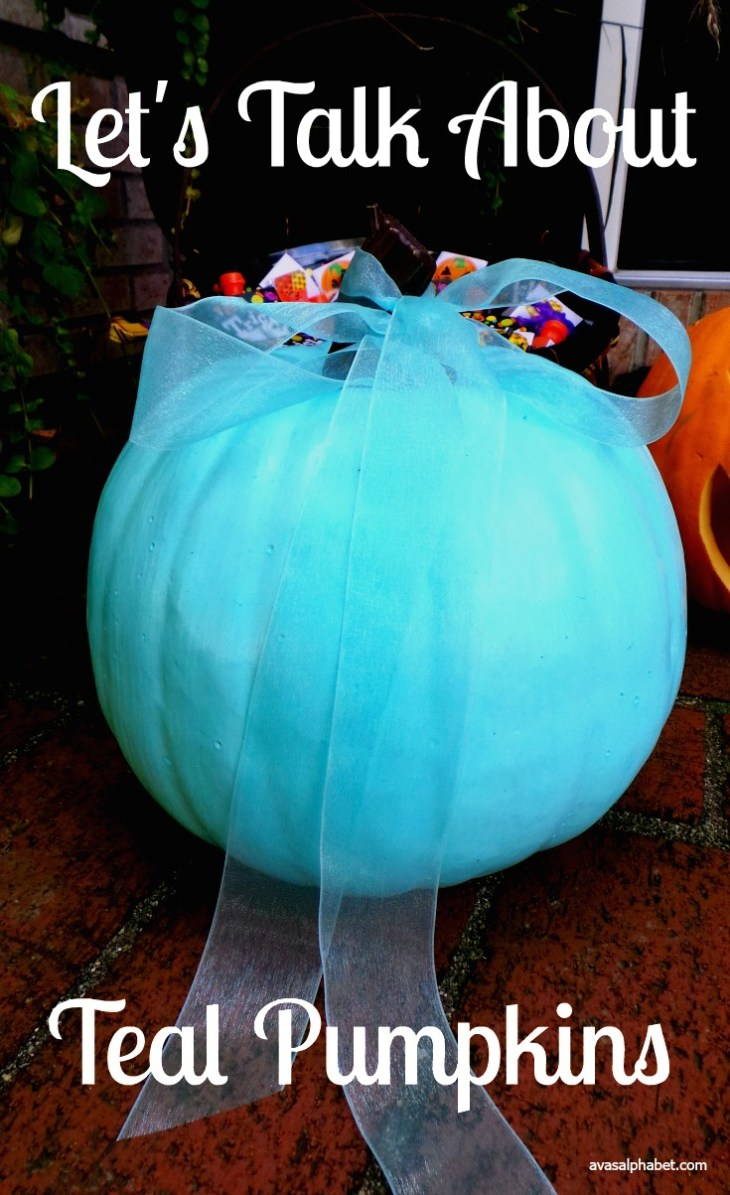 Let's Talk About Teal Pumpkins