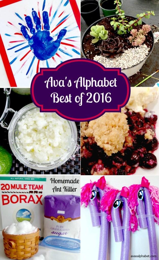 The Best of Ava's Alphabet 2016