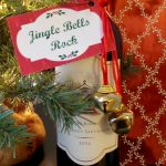 Jingle Bell Bottle Wrap with Printable Tags