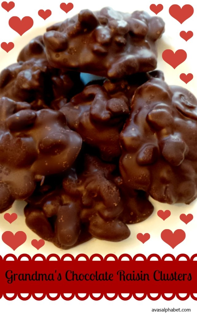 Grandma's Chocolate Raisin Clusters