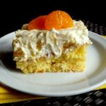 Delicious Citrus Cake with Pineapple Vanilla Frosting from Ava's Alphabet