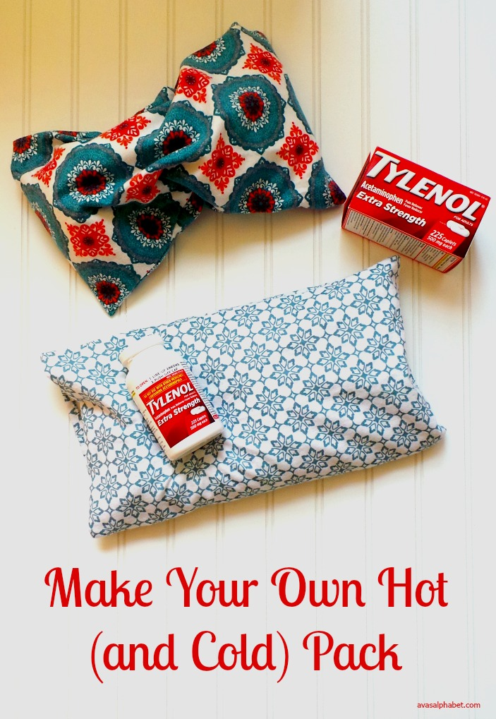 Make Your Own Hot Pack from Ava's Alphabet