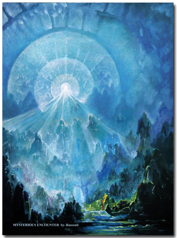 Mystical Art Contemporary Painting Mystic Arts Rassouli