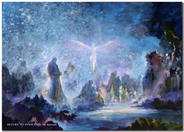 Mystical Art Of Rassouli Fantasy Abstract