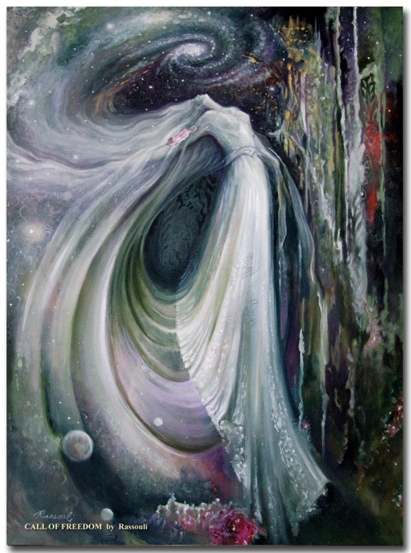 Fantasy Painting And Mystical Art Of Rassouli Sold