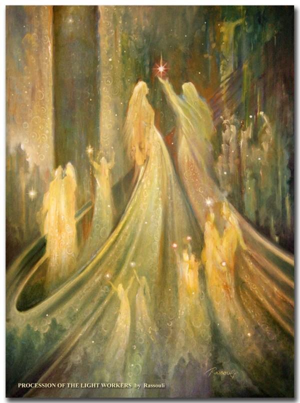 Mystical Spiritual Art Angel