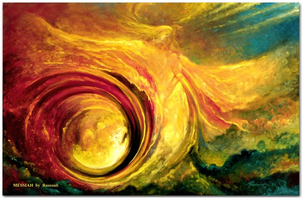 Surrealistic Painting And Mystical Symbolic Art Rassouli