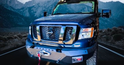 NV3500 Avatar Double Jack winch front bumper