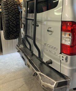NV3500 rear winch bumper from Avatar Metal Works