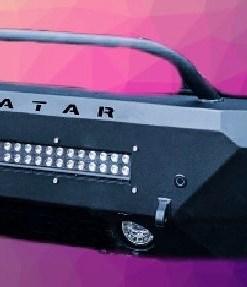 Nissan NV3500 Single Jack front bumper