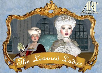 "Moliere's ""The Learned Ladies""- Virtual World Theater"