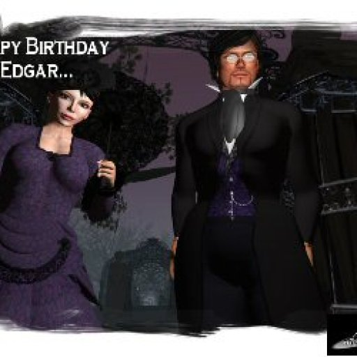 Happy Birthday Edgar! - Virtual World Theater