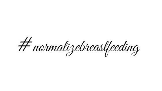 normalize breastfeeding