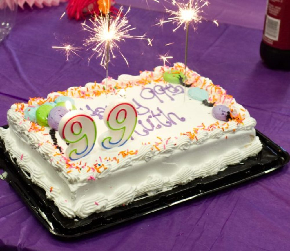 Celebrate 99 years young