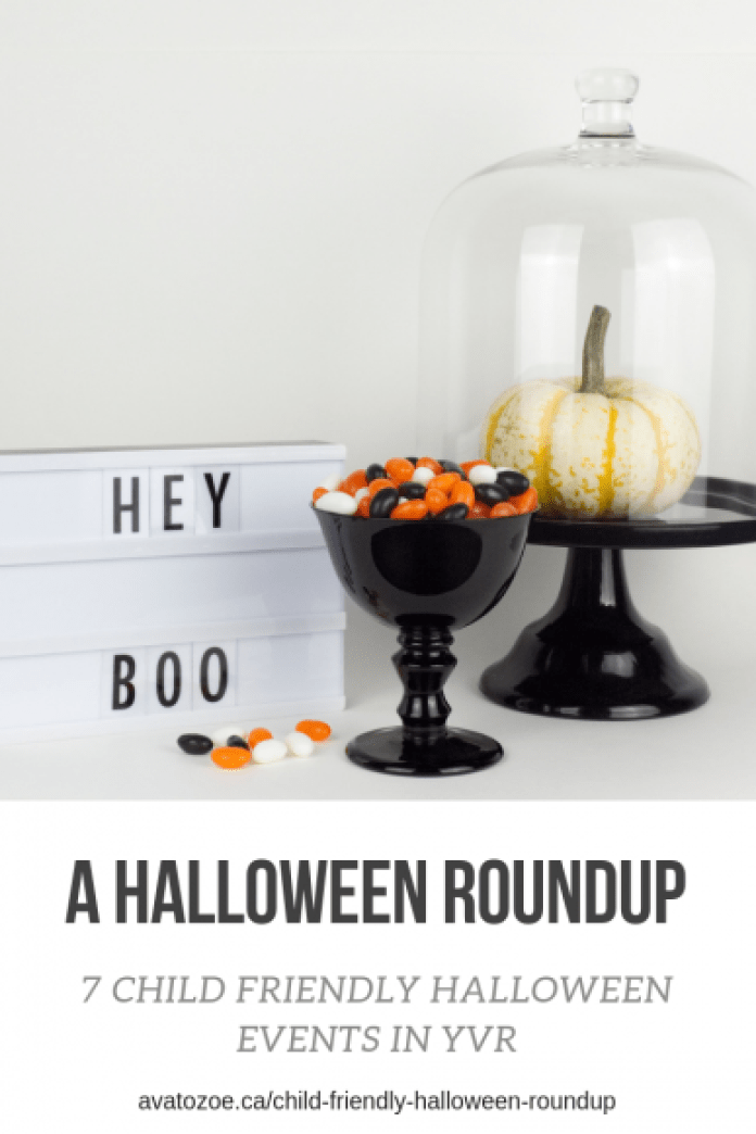 Child friendly Halloween Roundup