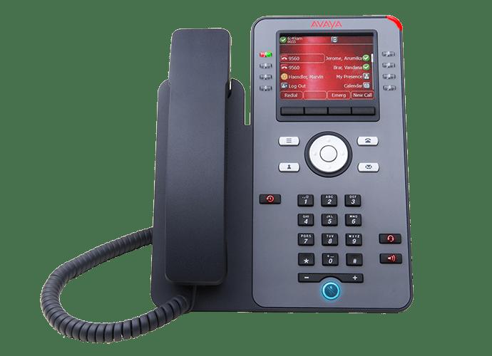 Telefones e dispositivos | Avaya IP Phone J179