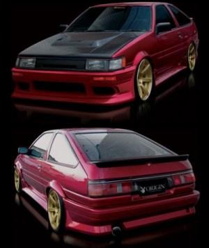 Bodykit for Toyota Corolla (1984  1987) › AVB Sports car