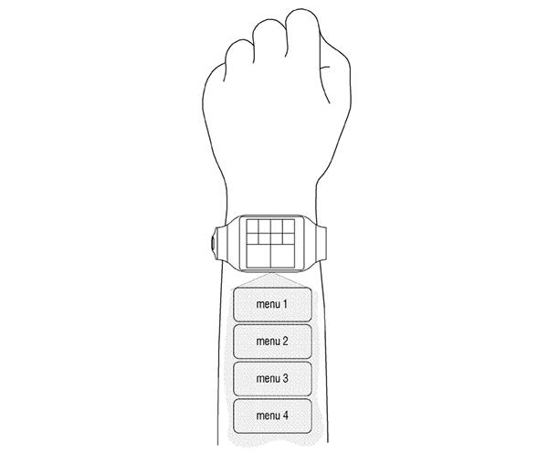Samsung smartwatch projecteur intégré : et contrôle