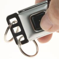 Small Seat Belt Buckle Key Holder with Nylon Strap