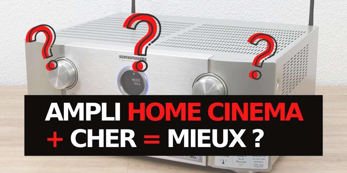 un amplificateur home cinema plus cher