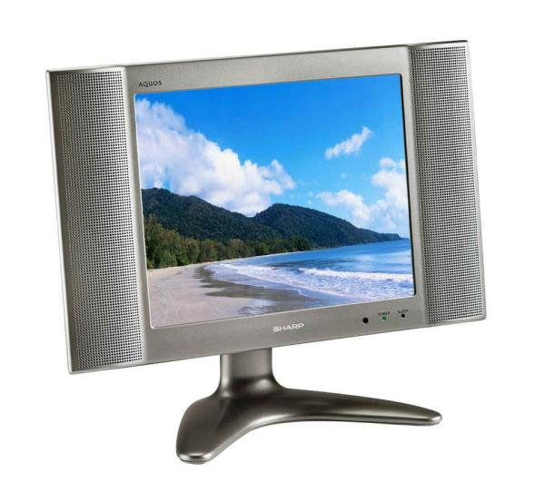 Sharp Aquos Lc-13b2ua Lcd Flat Screen Monitor Lc13b2ua