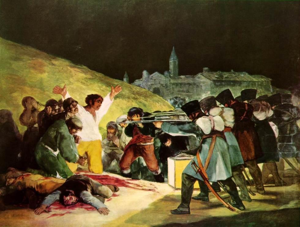 Francisco Goya - El tres de mayo de 1808 en Madrid (1814)