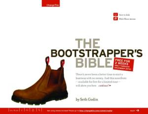 thumbnail of Bootstrappers_Bible_Seth_Godin