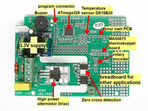 small resolution of spot welder control board with tft display