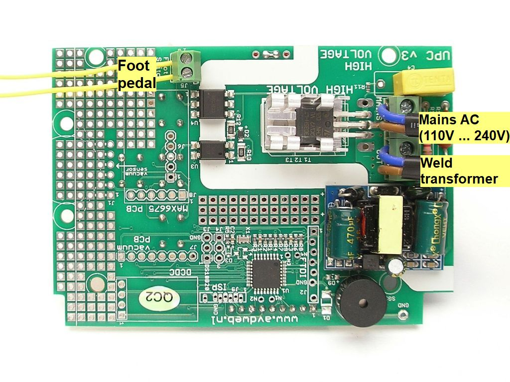 hight resolution of spot welding pulse timer controller wiring