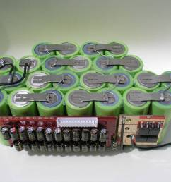 lifepo4 a123 12s2p battery pack with capacity balancing bms for e bike [ 1024 x 768 Pixel ]