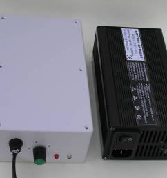 lightweight 800g battery charger left chinese battery charger right  [ 1024 x 838 Pixel ]