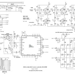 Motor Control Wiring Diagram Circuit Breaker Diagrams Brushless Controller Schematic Free