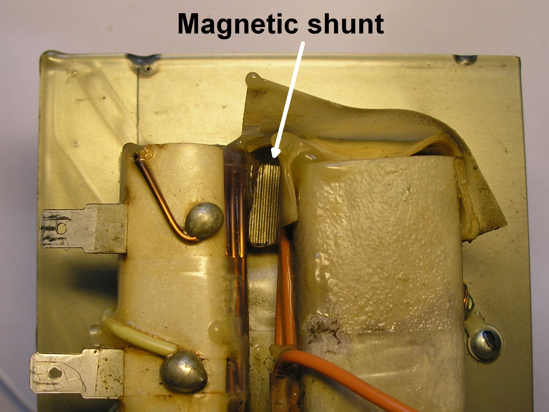 hight resolution of remove the magnetic shunt