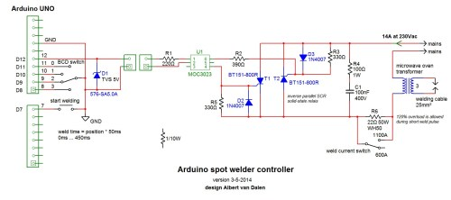 small resolution of here s a link to albert s schematic http www avdweb nl article files tech ircuit jpg