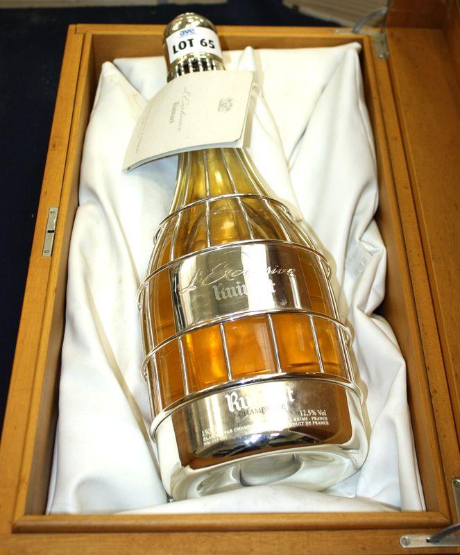 1 Magnum De Champagne Ruinart Lexclusive Cage A Oiseaux En