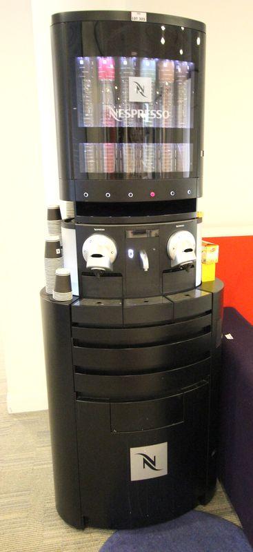 Meuble Nespresso Professionnel Integrant Deux Machines