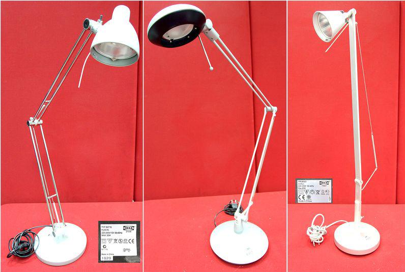12 lampes de bureau de marque ikea divers modeles