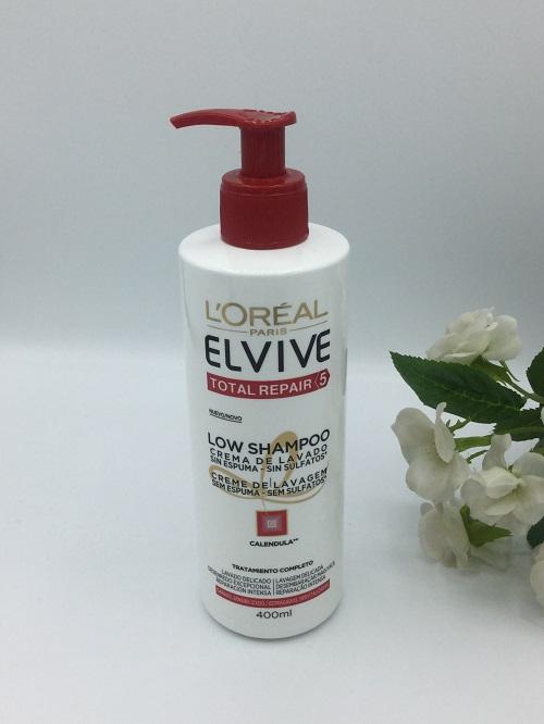 Low Shampoo Elvive Total Repair 5