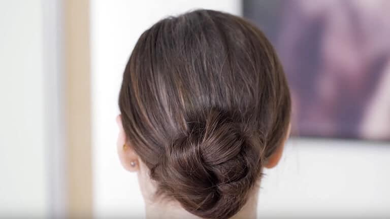 Aveda How To Create A Knotted Bun Hairstyle